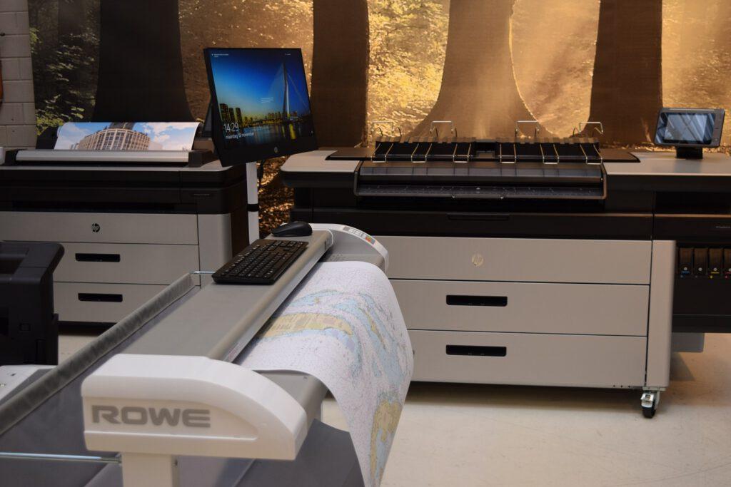 Repromat showroom grootformaat scannen en printen