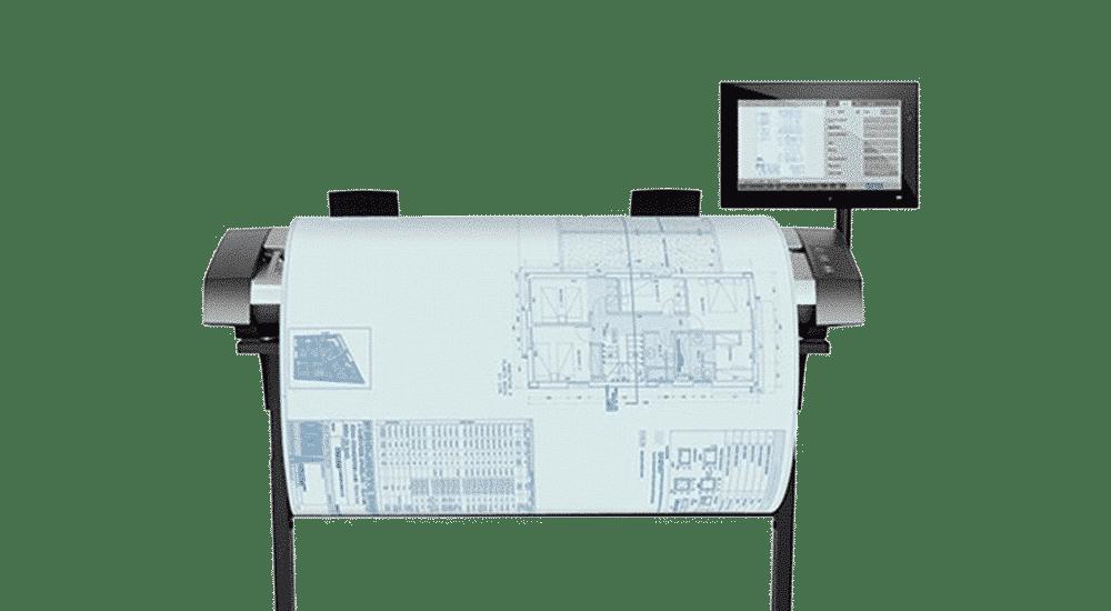 HP Designjet HD Pro scanner