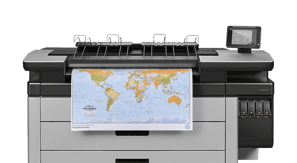 HP PageWide XL 4000 printer