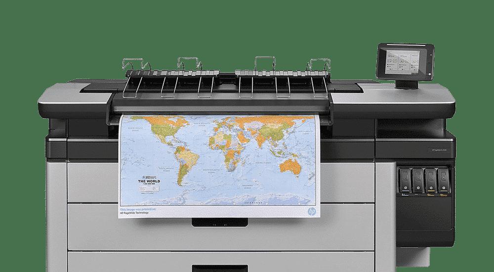 HP PageWide XL 4000 printer