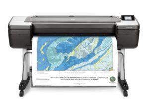 HP Designjet T1700 Dual Roll 44″ PostScript A0 Printer