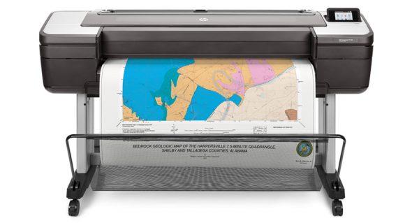 HP DesignJet printer