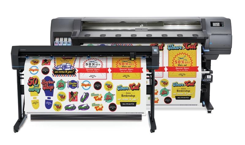 HP Latex 335 Print & Cut Plus Oplossing
