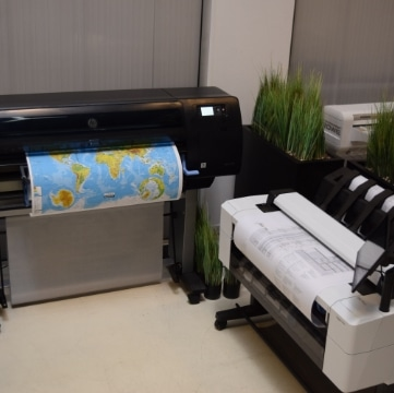 Grootformaat Printers en Plotters voor CAD & GIS toepassingen