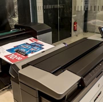 Grootformaat Printers en Plotters voor Grafische toepassingen