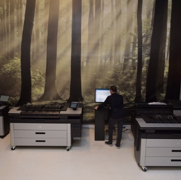 Grootformaat Printers en Plotters voor Repro toepassingen