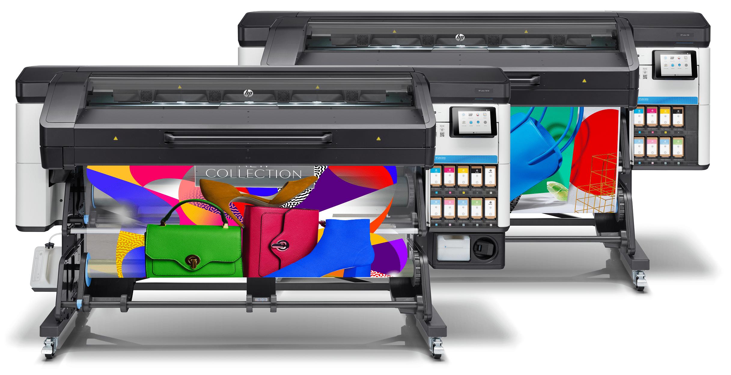 HP Latex 700 Printer series Front Repromat